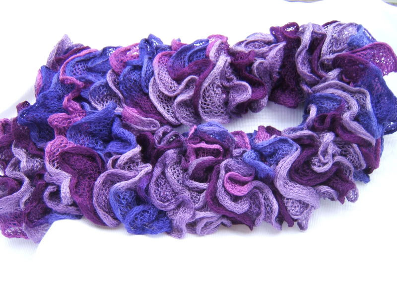 tricot laine flamenco
