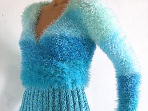 tricot laine fourrure