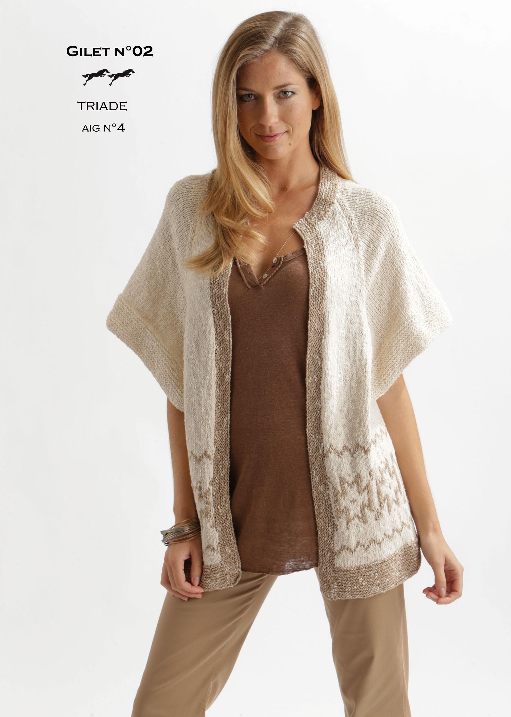 tricot laine modele