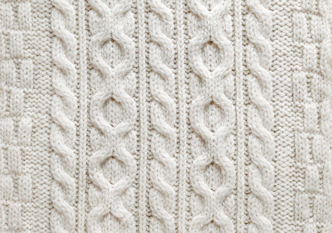 tricot laine motif