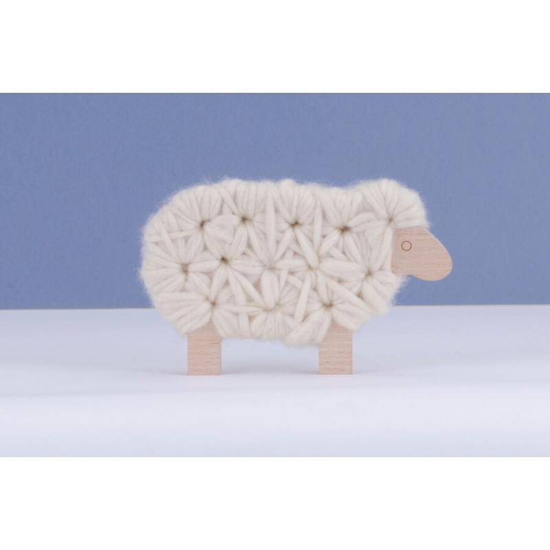 tricot laine mouton