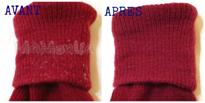 tricot laine qui bouloche