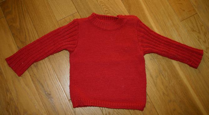 tricot laine retreci