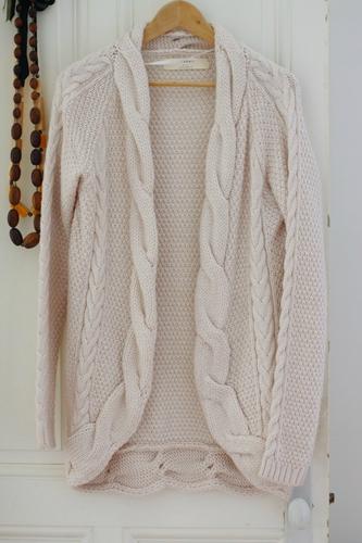 tricot laine zara