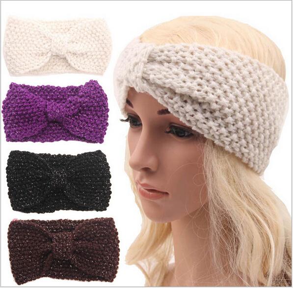crochet bandeau laine