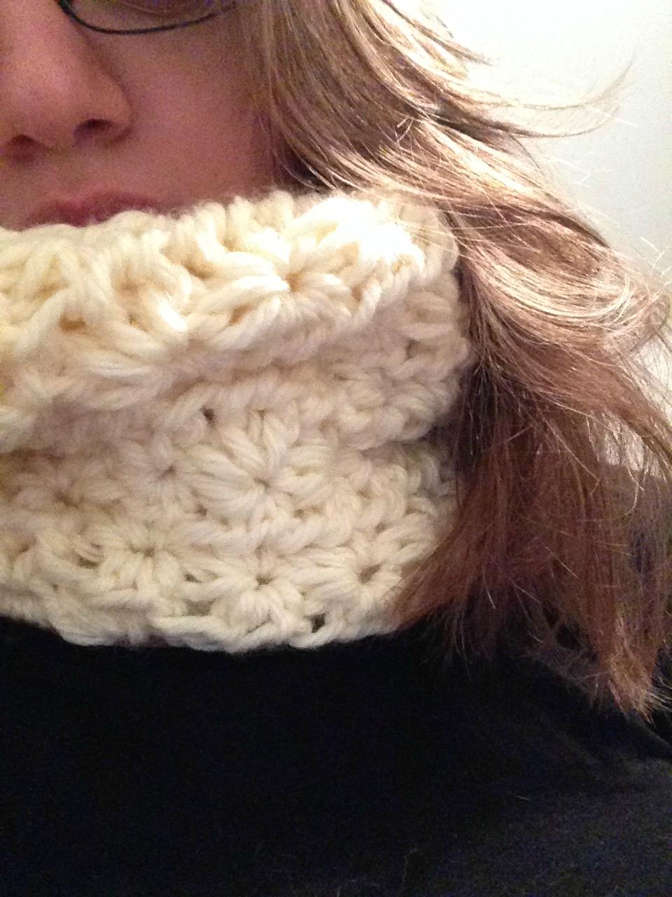 crochet laine chenille