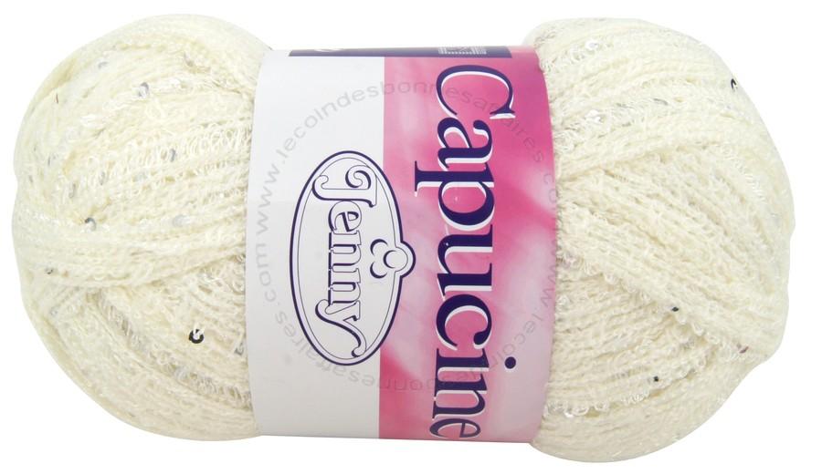 laine a tricoter avec sequins