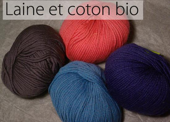 laine a tricoter bio