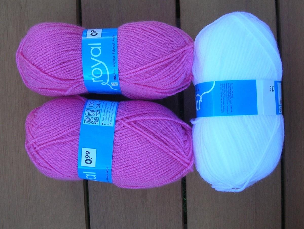laine a tricoter chez action