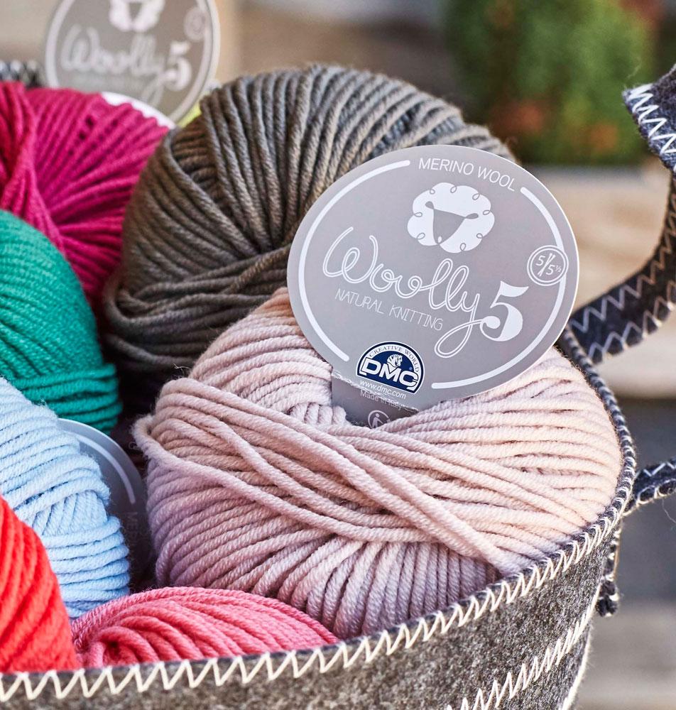 laine a tricoter dmc