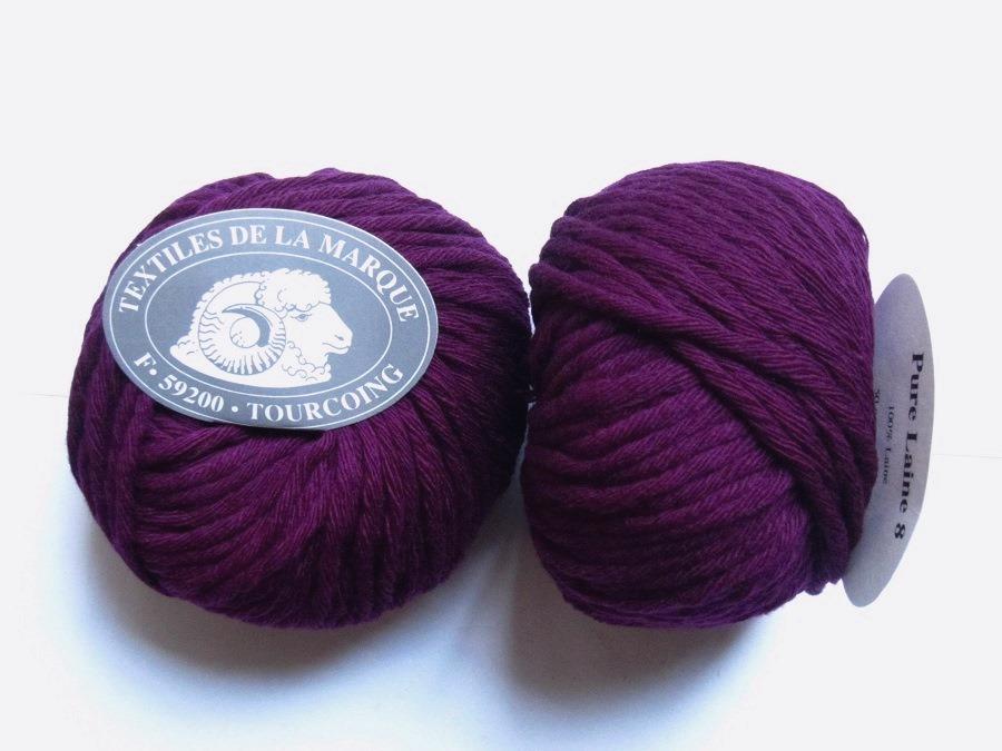 laine a tricoter en 8