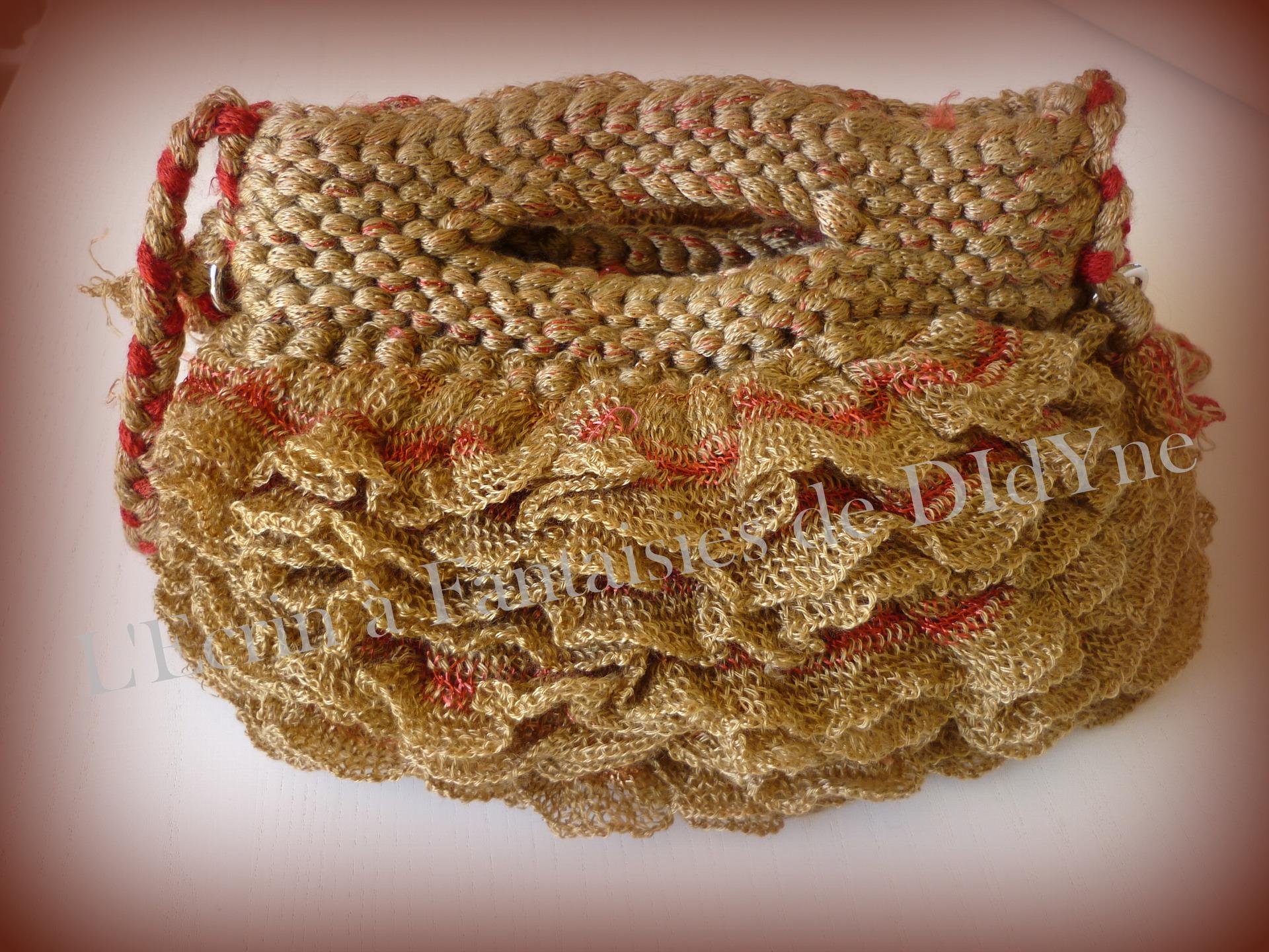 laine a tricoter froufrou