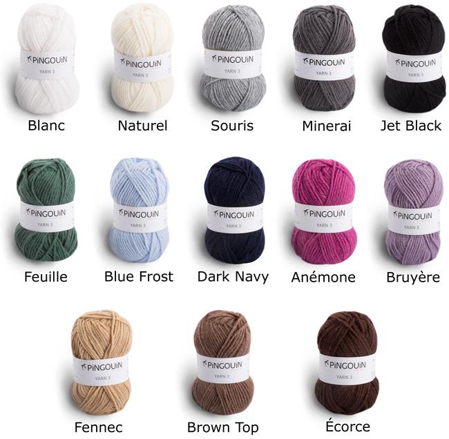 laine a tricoter pingouin