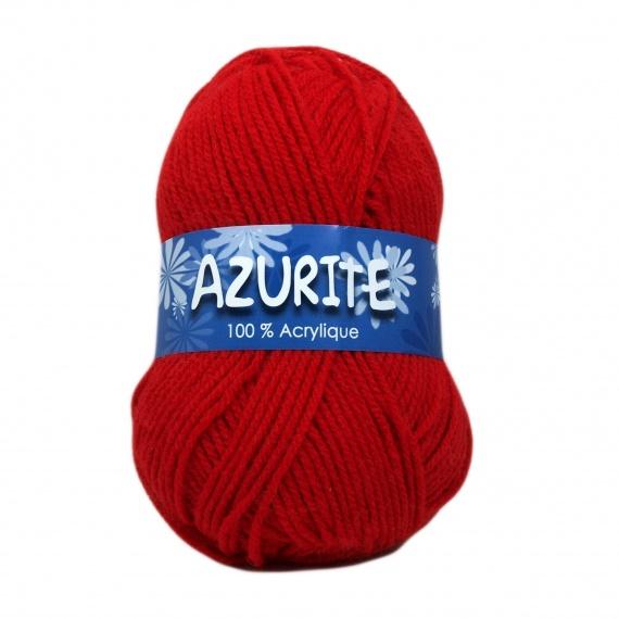 laine a tricoter rouge