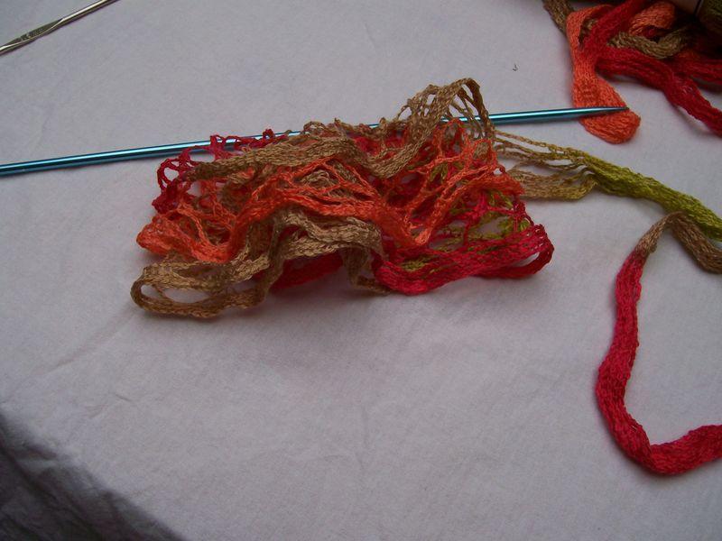 laine a tricoter ruban