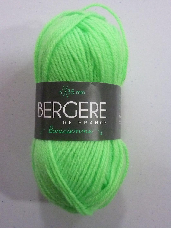 laine bergere de france vert anis