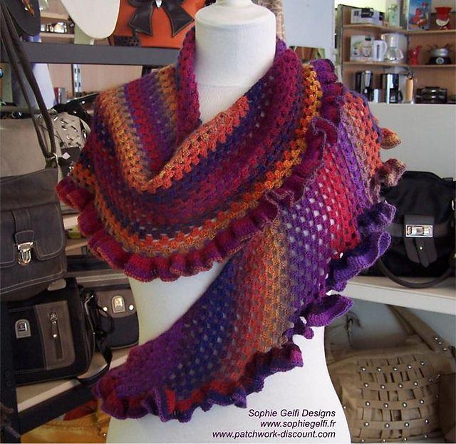 laine flamenco crochet
