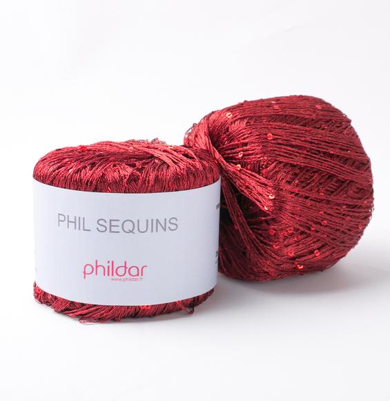 laine phildar bordeaux