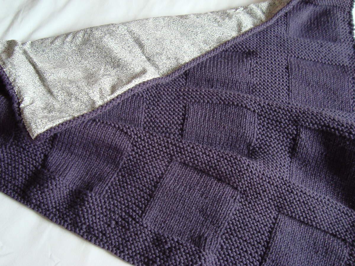 laine phildar couverture bebe