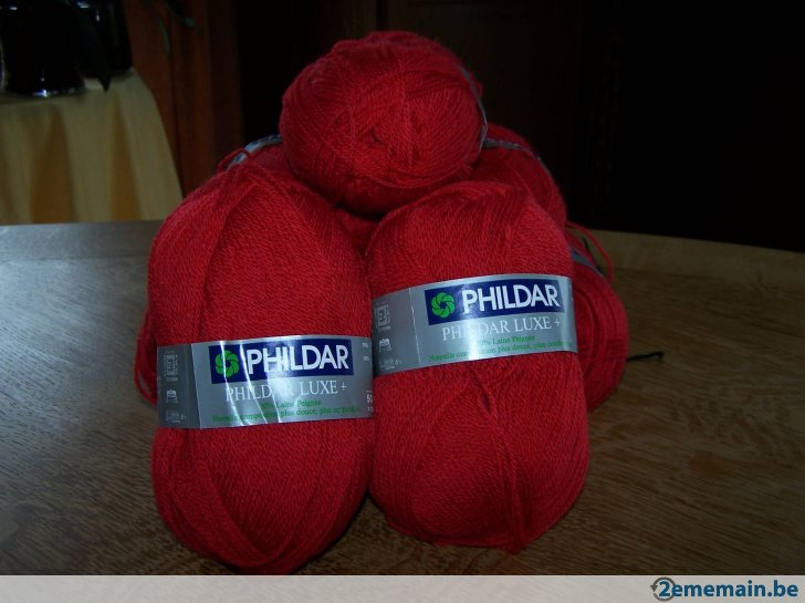 laine phildar luxe