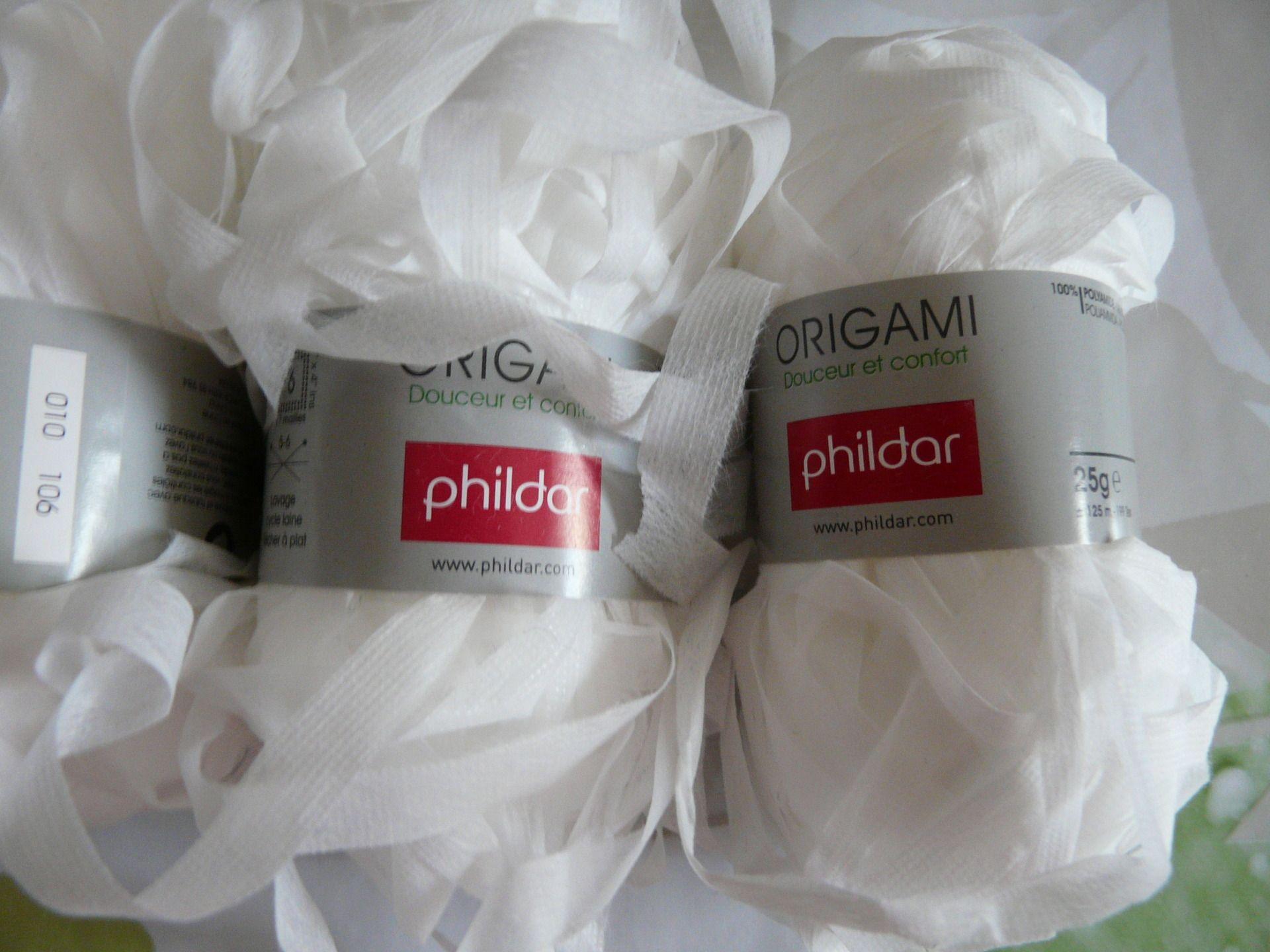 laine phildar origami