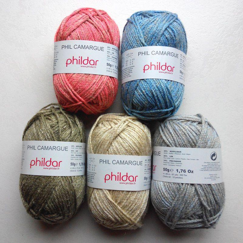 laine phildar rustique