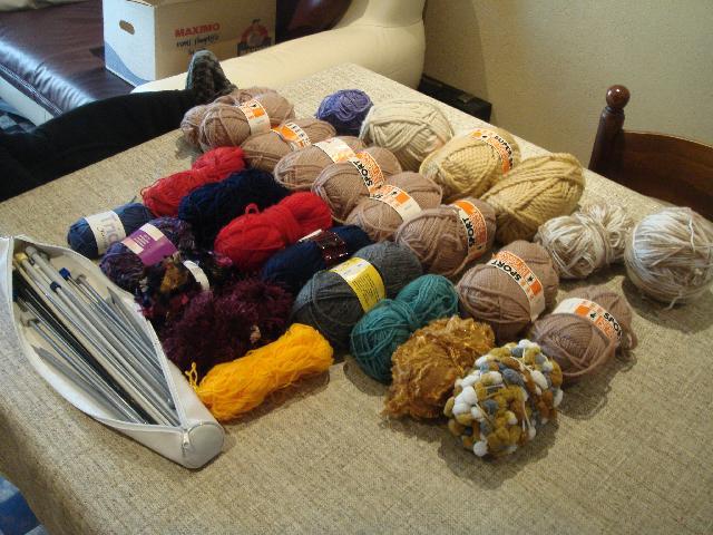 pelote de laine a donner