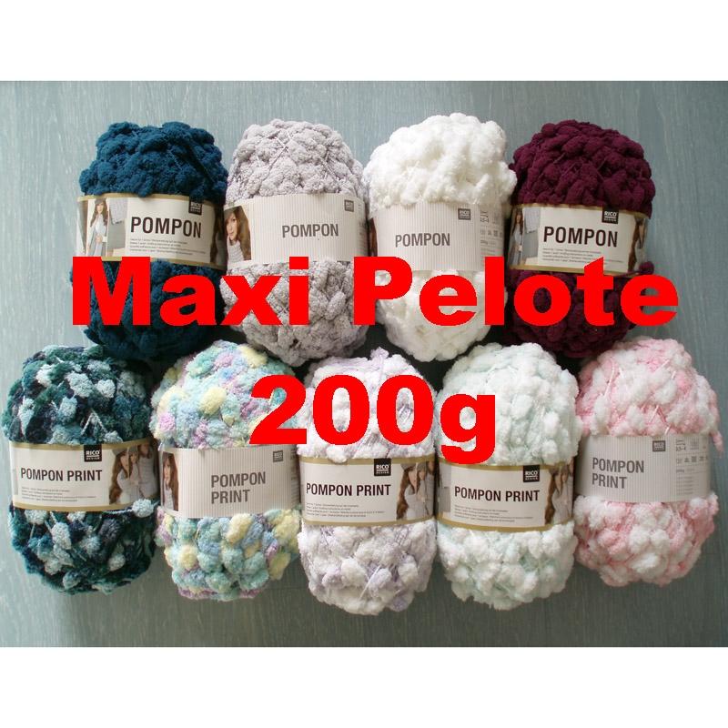 pelote de laine a pompon