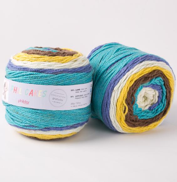 pelote de laine cake