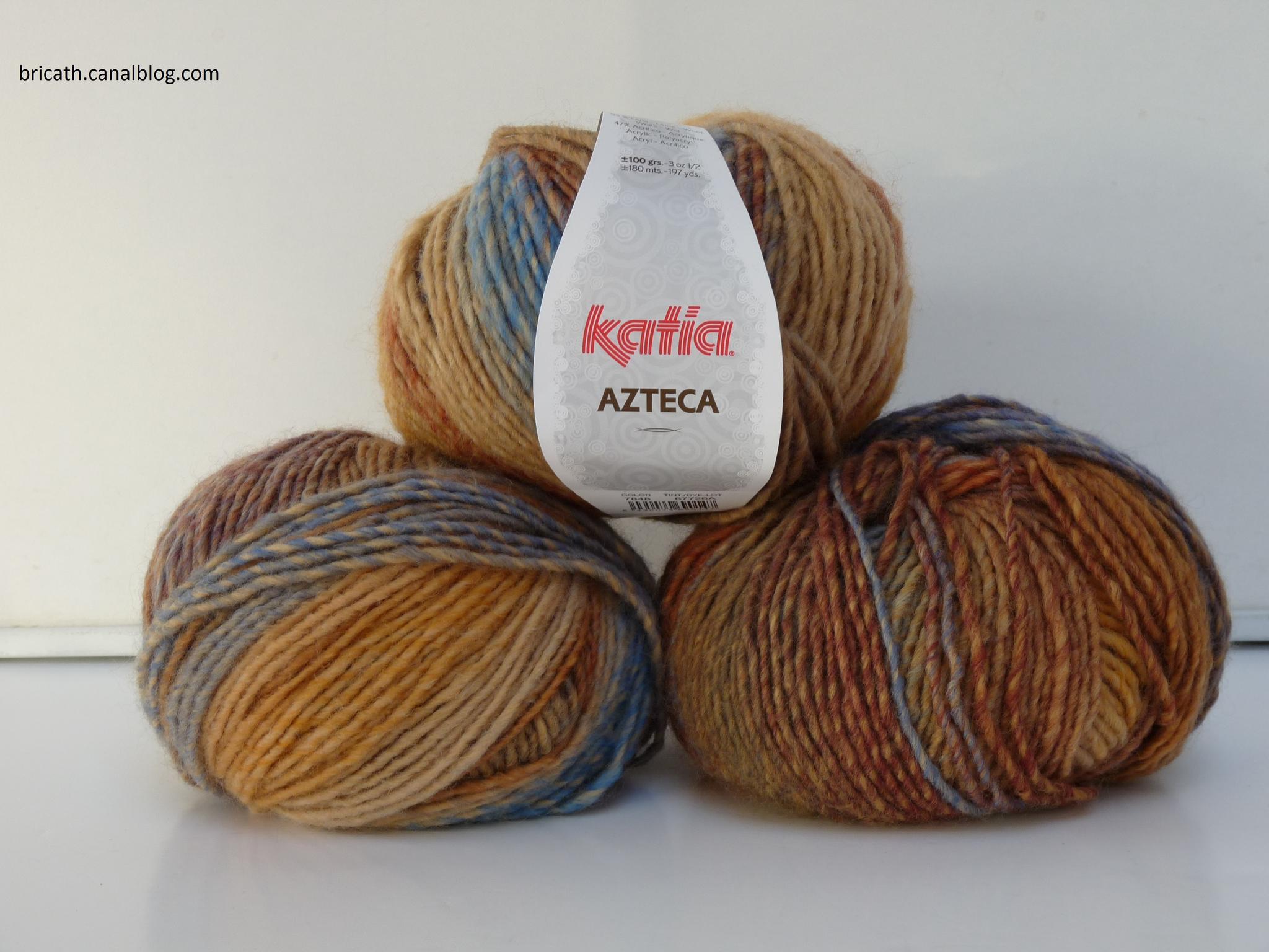 pelote de laine de 100 grammes