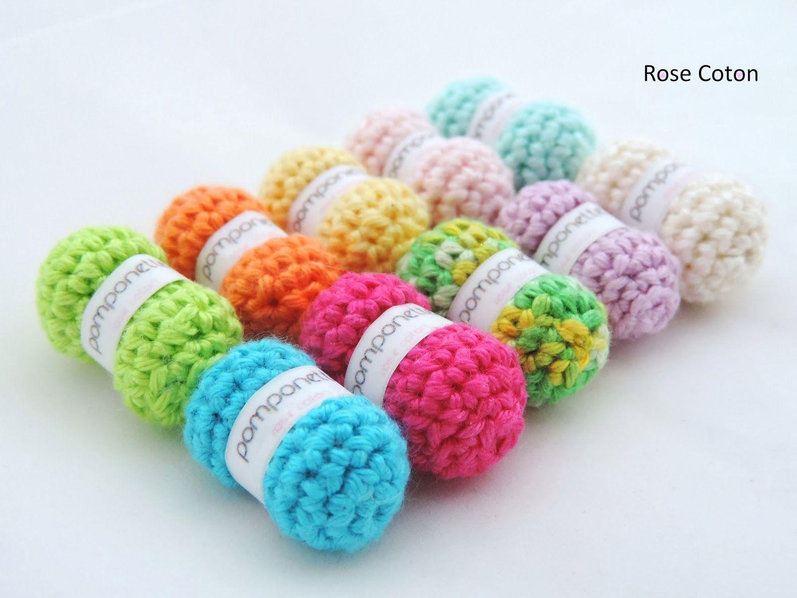 pelote de laine en coton
