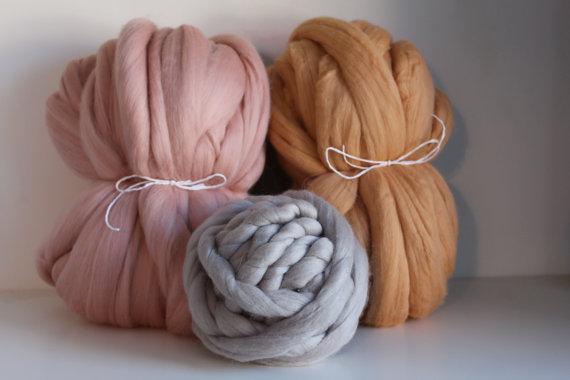 pelote de laine geante