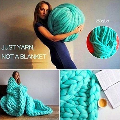 pelote de laine gros fil pas cher