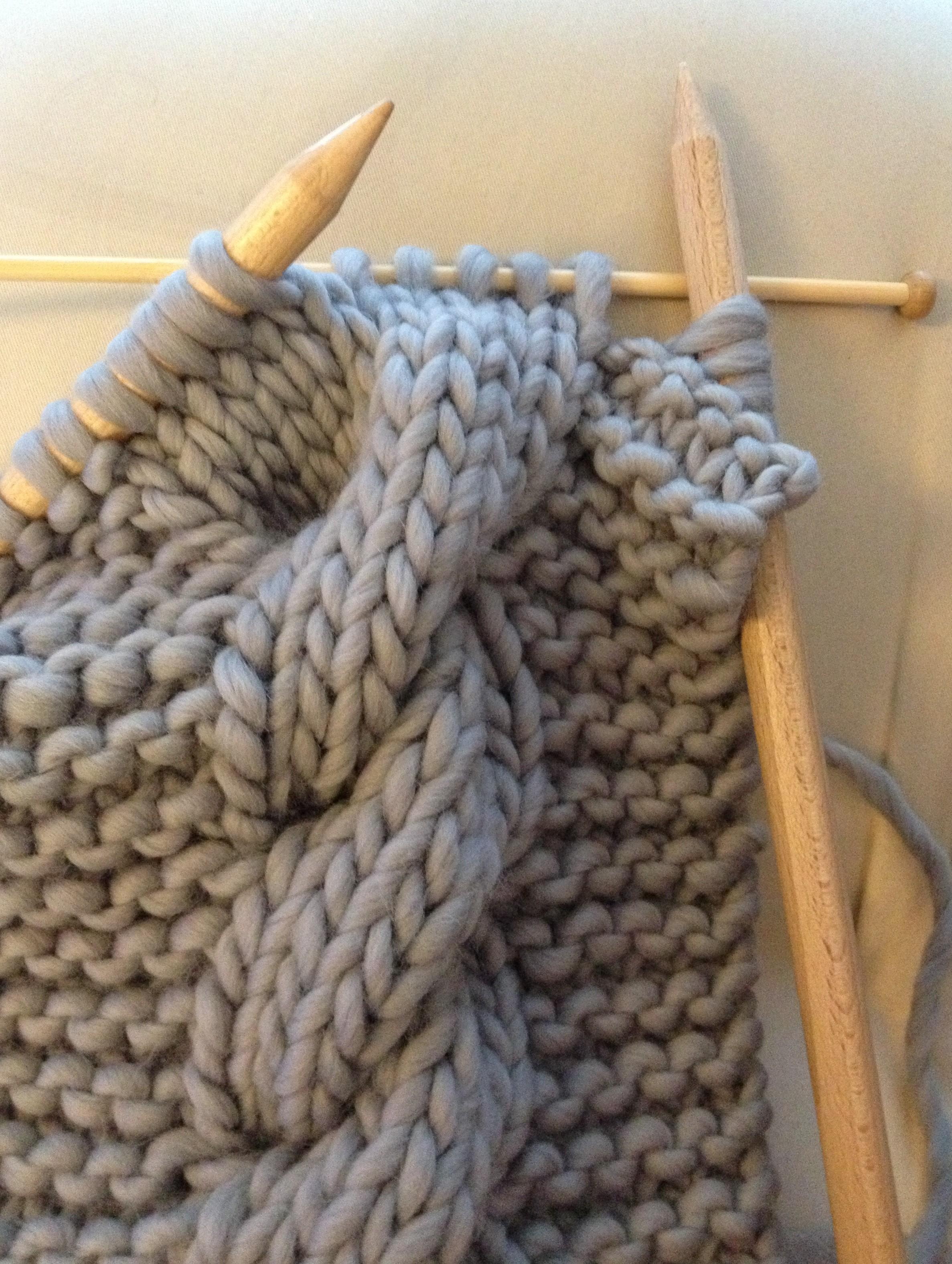 pelote de laine grosse aiguille