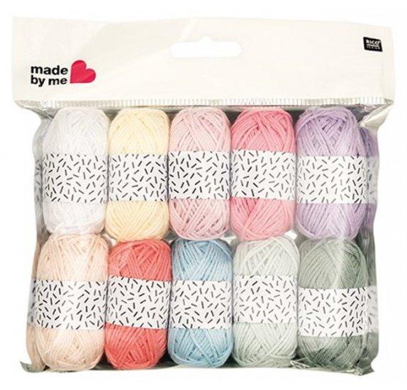 pelote de laine lot