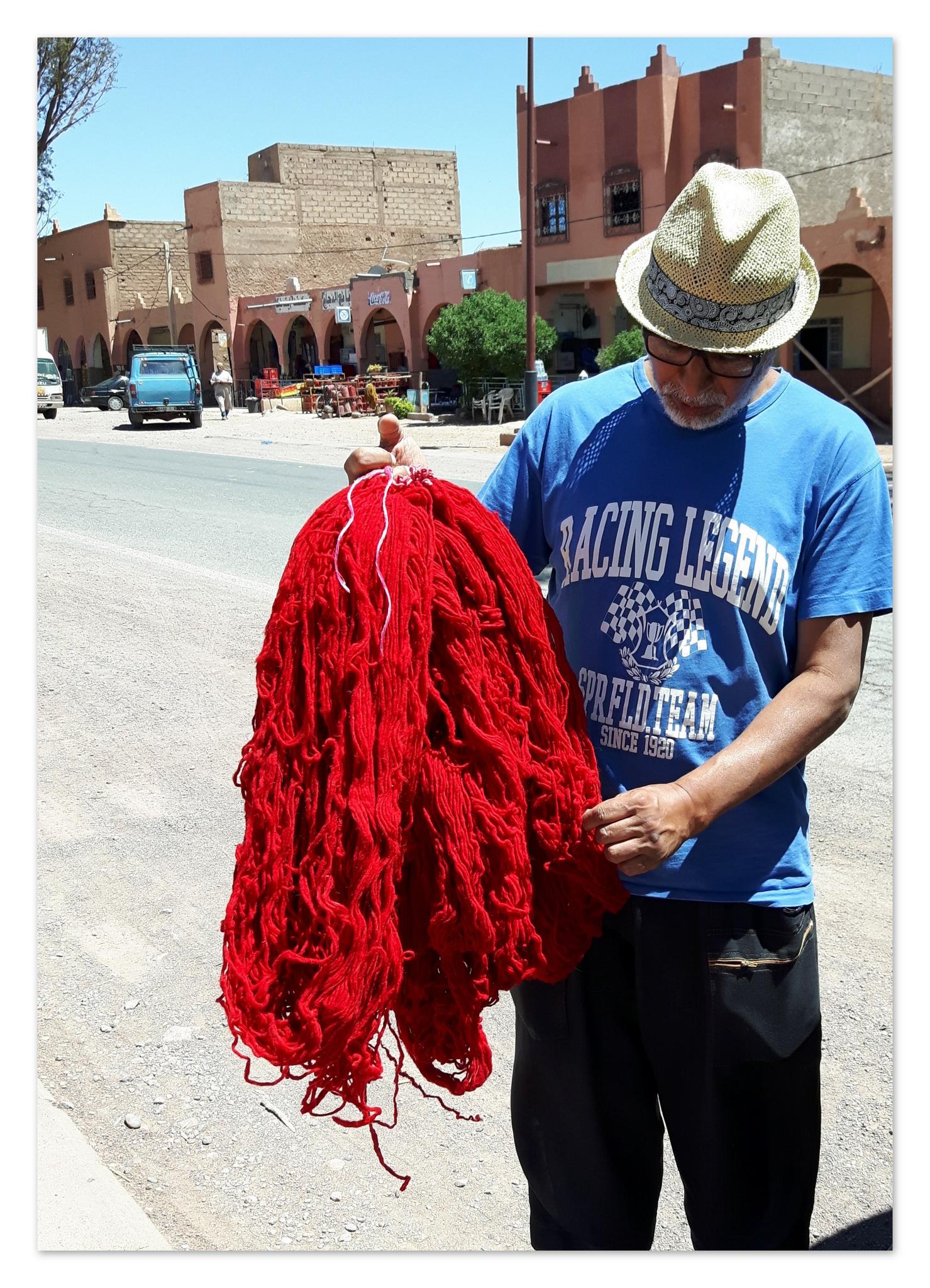 pelote de laine maroc