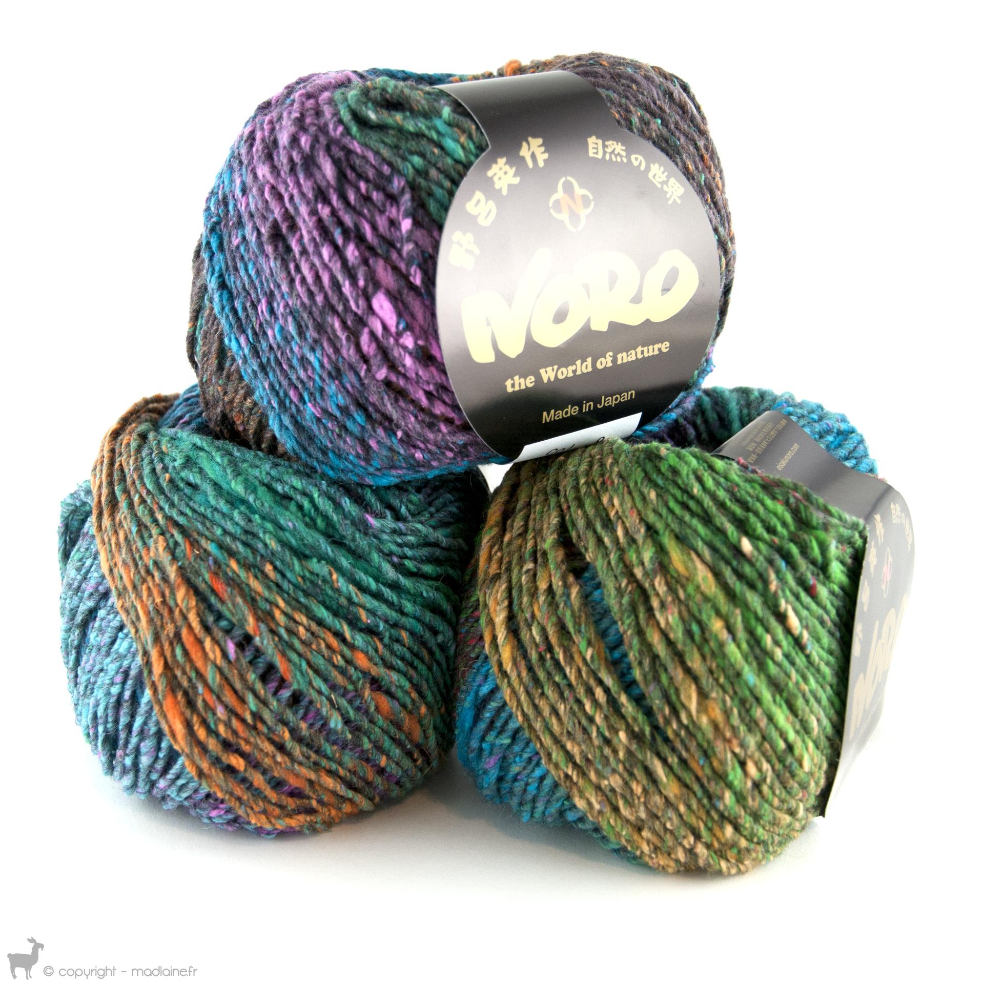 pelote de laine noro