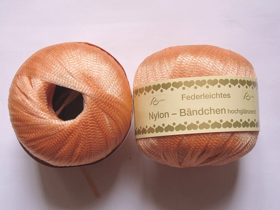 pelote de laine nylon