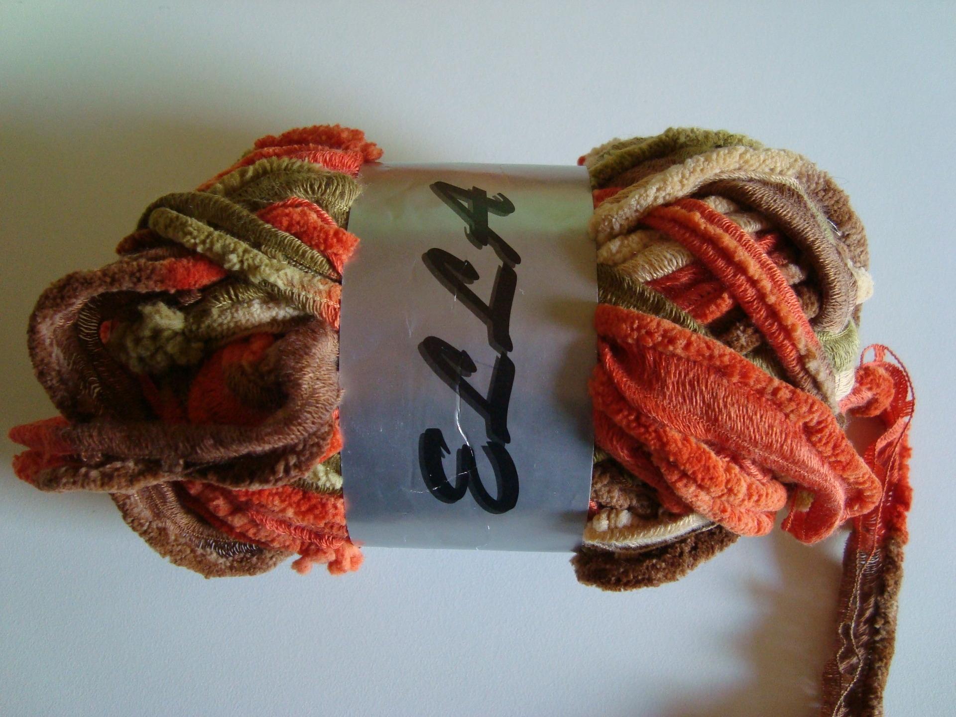 pelote de laine pour echarpe fantaisie