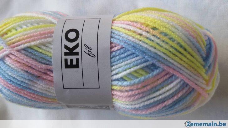 pelote de laine pour layette
