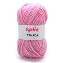 pelote de laine rose pale