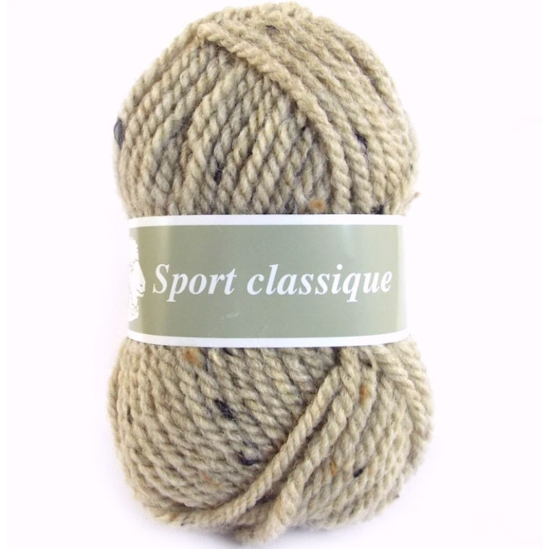 pelote de laine sport classique