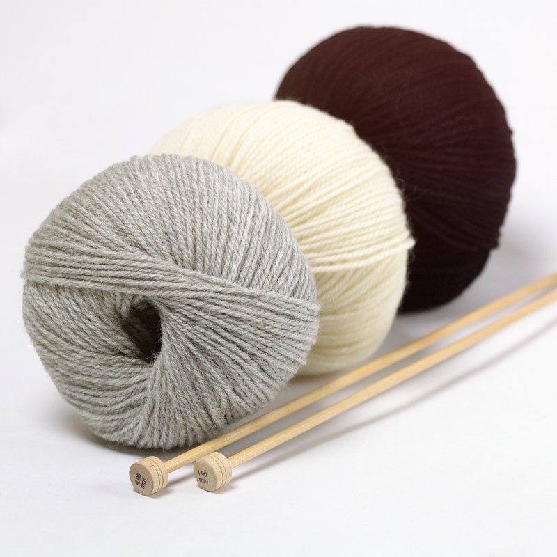 pelote de laine suisse