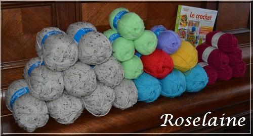 pelote de laine tweed zeeman