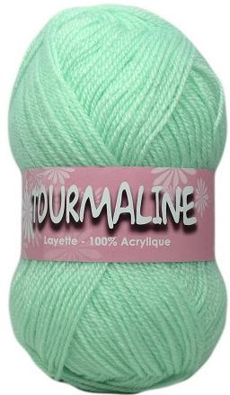 pelote de laine vert d'eau