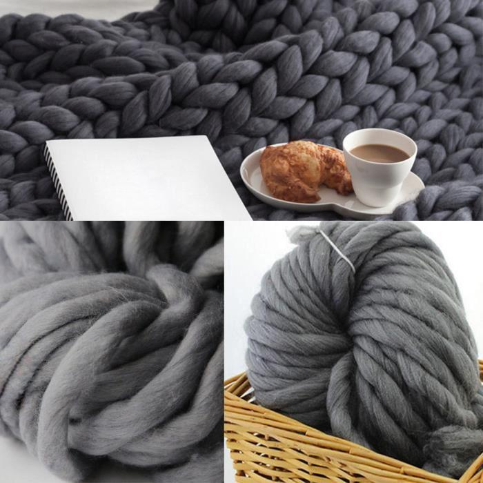 pelote de laine volumineuse