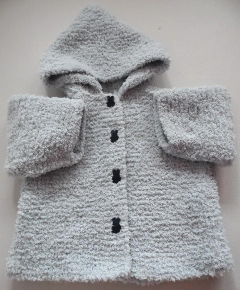tricot laine bebe