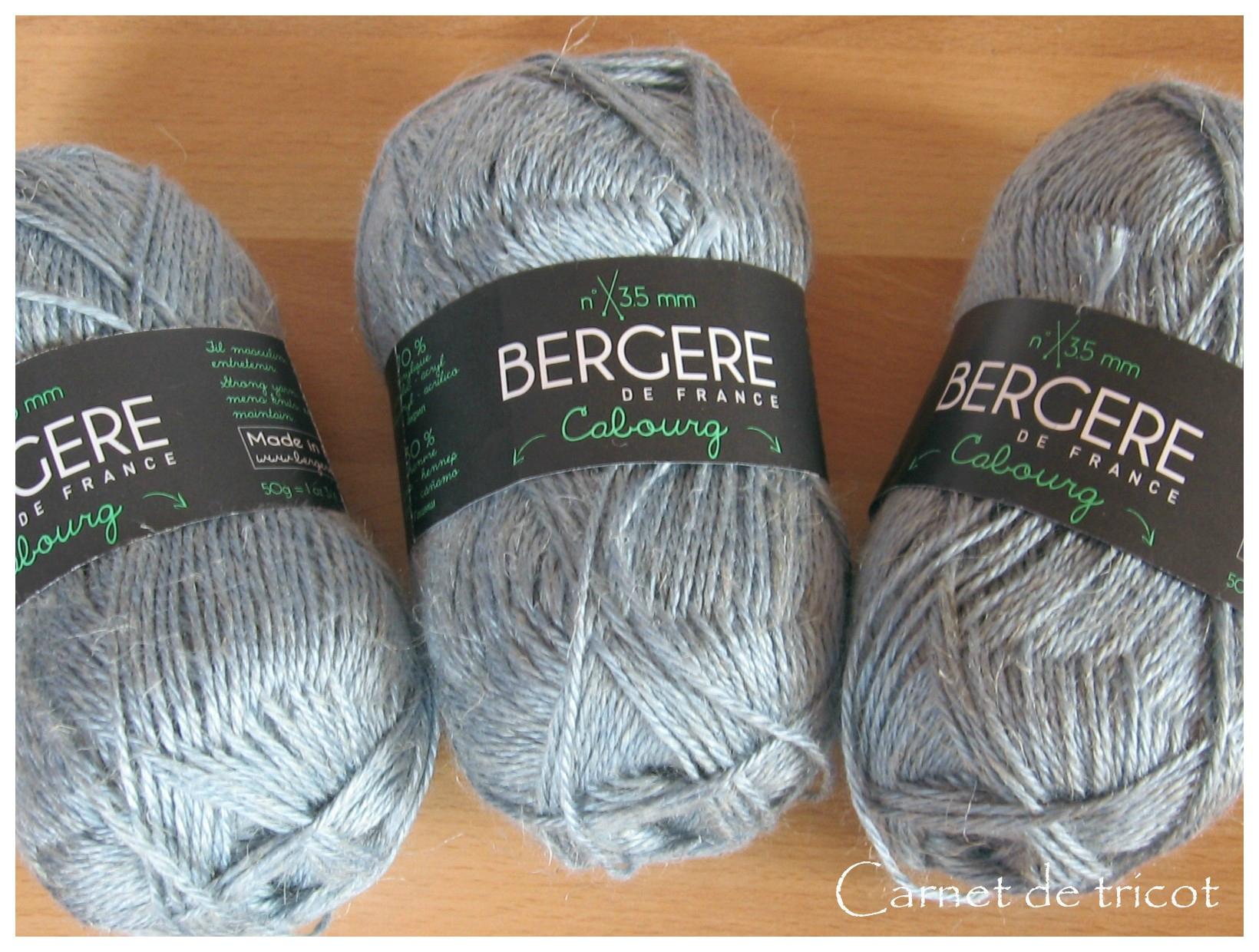 tricot laine bergere de france