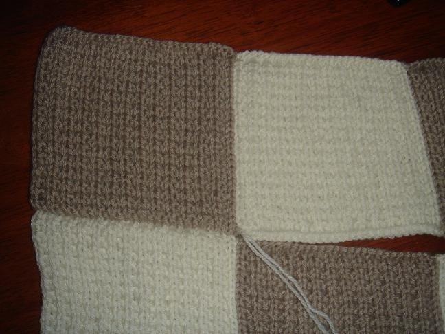 tricot laine couverture