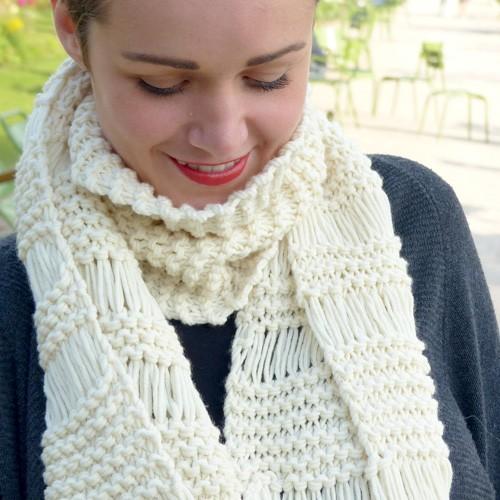 tricot laine debutant